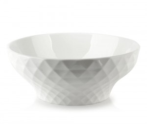 Miska porcelanowa Diament White salaterka 0,7 L