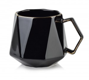 Kubek porcelanowy Ralph Black 380ml